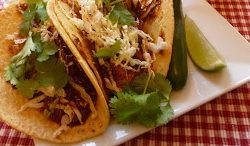 Mole Pulled Pork Tacos
