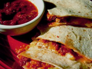 chipotle chicken quesadilla