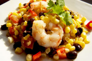 Shrimp, Black Bean & Corn Salad